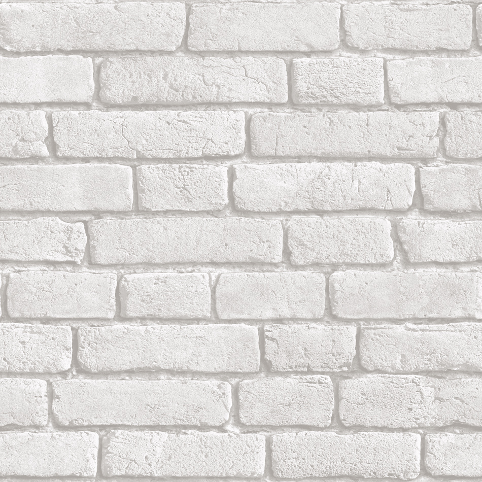 Design Wallpaper Brick White Koziel Bluff Muriva J303 09